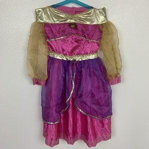 Disney Dress Princess Jazmine Pink Purple Sz: 4-6X